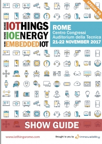 IOTHINGS Rome, 21-22 novembre 2017 Sessione speciale 5G accelerate the Ecosystem
