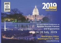 Conference AHFE 2019 – Washington D.C.