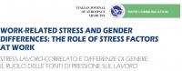 Work-related stress and gender differences: the role of stress factors at work